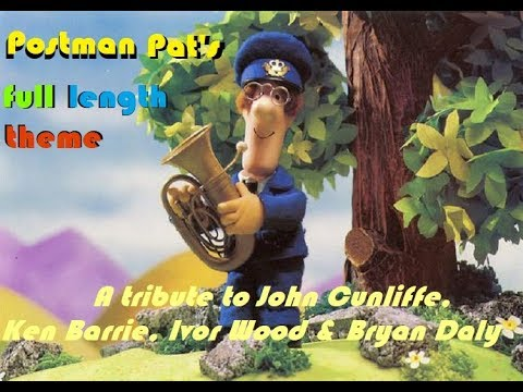 Postman Pat Music Video - A tribute to John Cunliffe, Ken Barrie, Ivor Wood and Bryan Daly