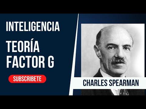 Spearman g factor