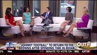 Andrea Tantaros & Ainsley Earhardt Outnumbered 04-14-15