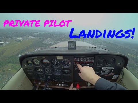 | Private Pilot Landings |  How To Land | Cessna 172