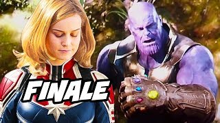 Avengers Infinity War Ending - Captain Marvel and Agents Of SHIELD Finale Explained
