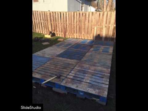 pallets-shed