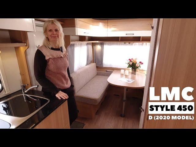 LMC Style 450 D (2020) med fritstående dobbeltseng