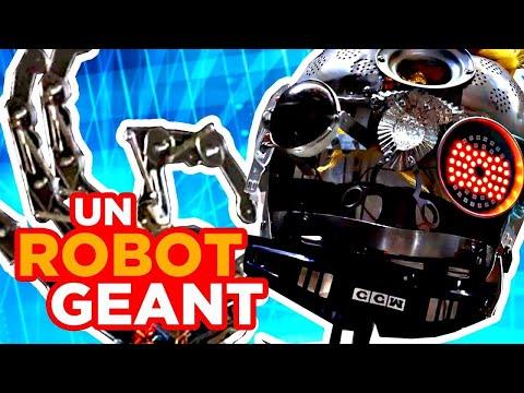 Ce Vrai Robot est Terrifiant !
