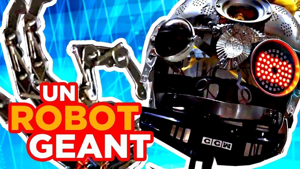 CE ROBOT EST TERRIFIANT !
