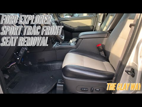 Ford Explorer / sport trac Driver seat removal
