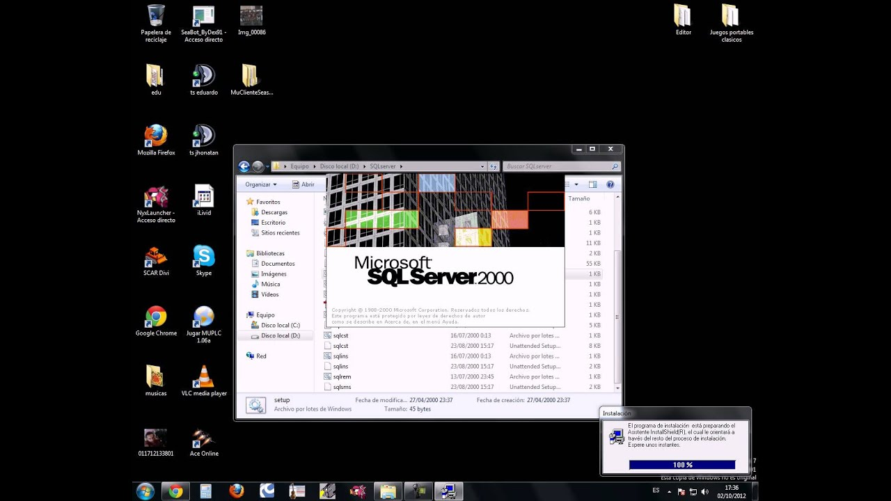 2000 7 - Como Instalar Sql Server En Windows - 2000 7