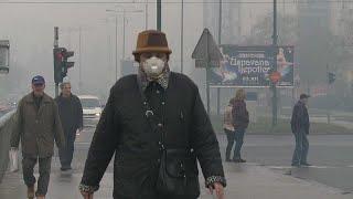 شاهد: التلوث يلف سراييفو ويبلغ مستويات قياسية