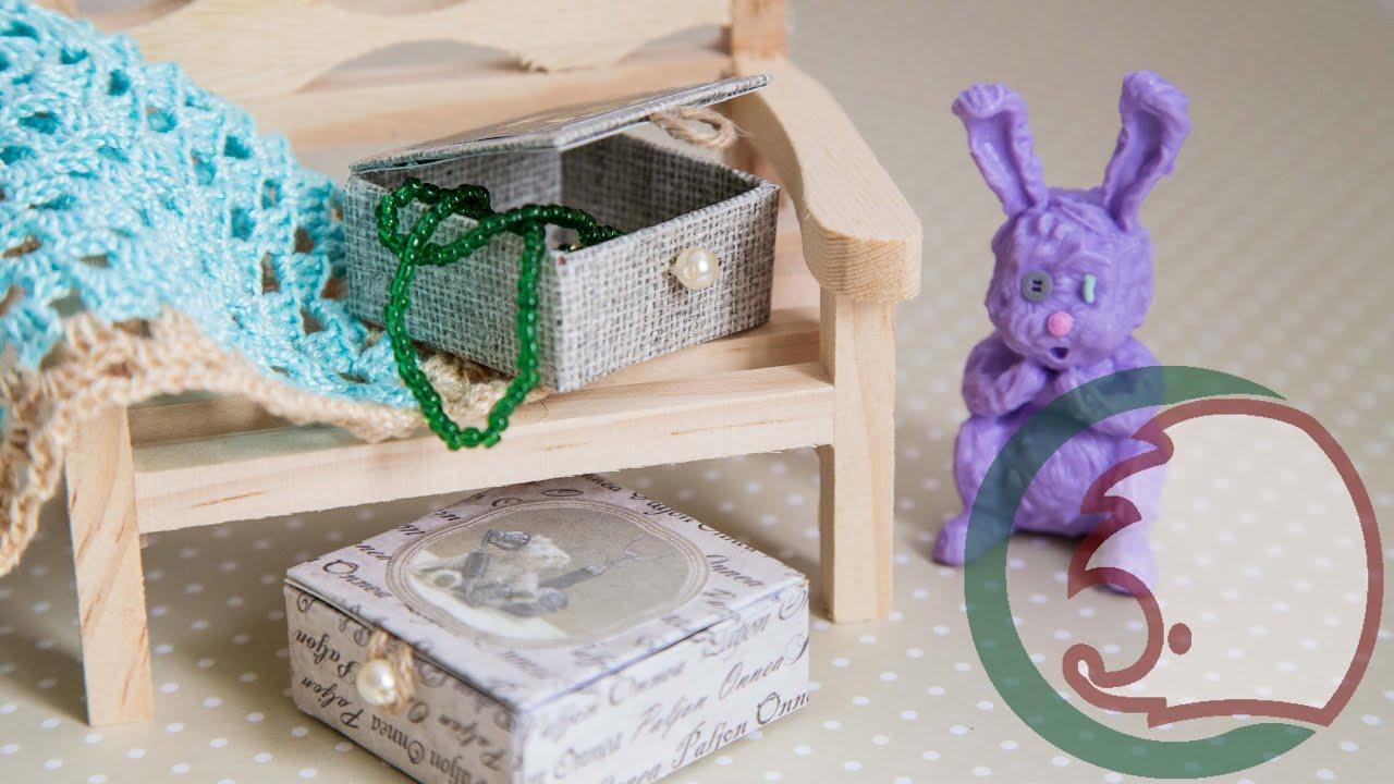 Как сделать своими руками коробочку для куклы