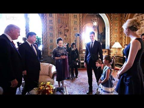 Ivanka Trump 's adorable daughter Arabella Trump serenades Xi Jinping with Mandarin song