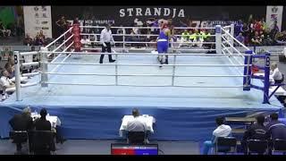 Три нокдауна и нокаут супертяжа Кункабаева на турнире в Болгарии