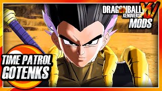 Dragon Ball Xenoverse PC: Time Patrol Gotenks (Dragon Ball Heroes) Mod Gameplay
