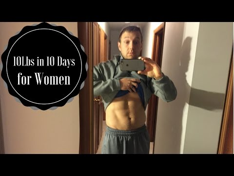How to Lose Weight Fast in 10 Days for Women