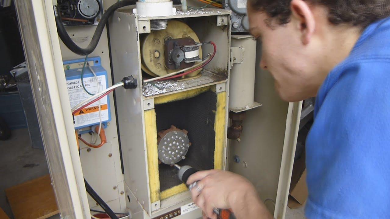 Taking apart the old explosion furnace lennox pulse furnace youtube publicscrutiny Choice Image
