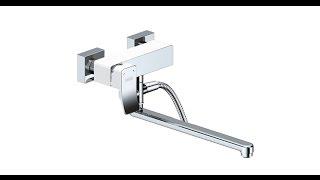 Смеситель для ванны WasserKraft Aller 1062LWHITE 3D(3D модель смесителя для ванной с длинным поворотным изливом., 2015-10-20T14:37:18.000Z)