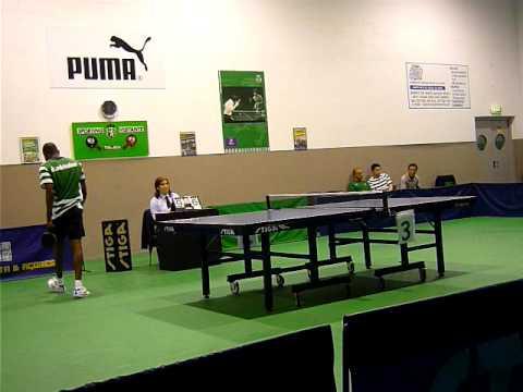 Tenis de Mesa :: Sporting - 4 x S. Roque - 2 de 2008/2009