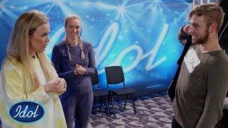 Christoffer Får Et Nei, Men Silje Borgan Henter Han Tilbake Til Studio Igjen! | Idol Norge 2018