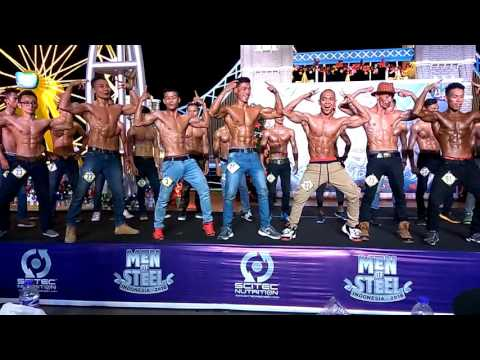 Men Of Steel Indonesia 2016 Bay Walk Mall Pluit (Semi Final New Muscle Category)
