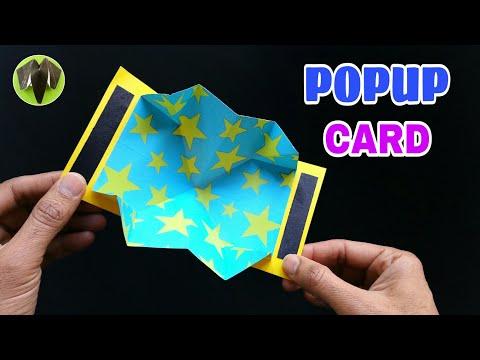 Easy POPUP Card - DIY   Scrapbook   Handmade   Tutorial - 761