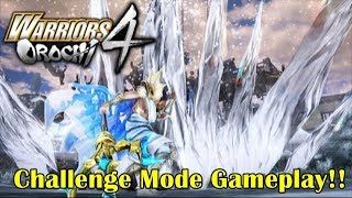 Warriors Orochi 4『無双OROCHI3』Challenge Mode Gameplay at Tokyo Game Show!!
