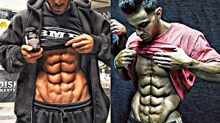INSANE ABS ! Can`t believe it`s real! // 6 Pack Abs is nothing! This is a 10-pack