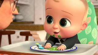 The Green Bean Battle Scene - THE BOSS BABY: Back in Business (2018)
