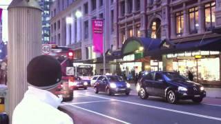 Sydney George Street Walk At 5pm Part 3