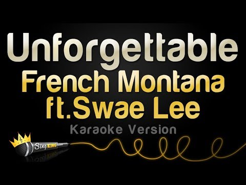 French Montana ft. Swae Lee - Unforgettable (Karaoke Version)