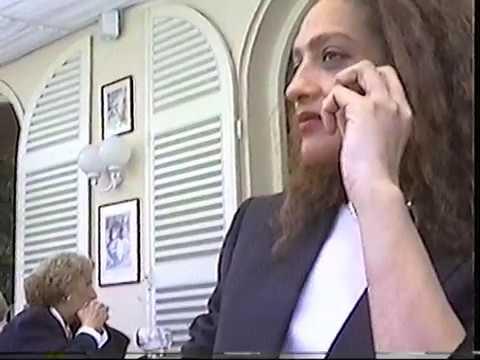 Dejeuner au restaurant Avec Ikbal Ben Azzouz - visite region la celle saint cloud - debut 1996