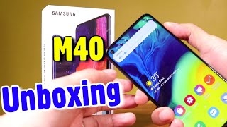 Samsung M40 First Look & Hands On Leaked with Full Specification