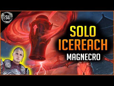 🔥ICEREACH SOLO Dungeon🔥 - Solo Magcro Build - Elder Scrolls Online ESO