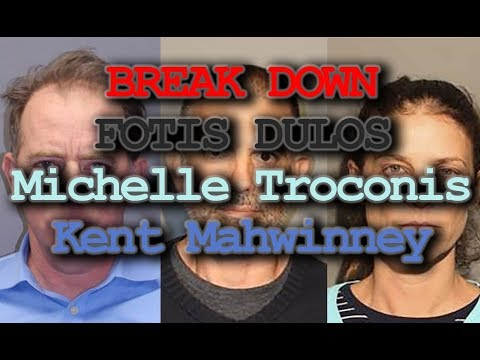 Fotis Dulos, Michelle Troconis, Kent Mahwinney Warrant Break Down