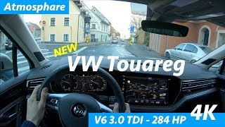 Volkswagen Touareg 2019 POV 4K test drive by JR in Croatia - city, freeway
