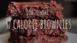 How To Make 37 Calorie Brownies
