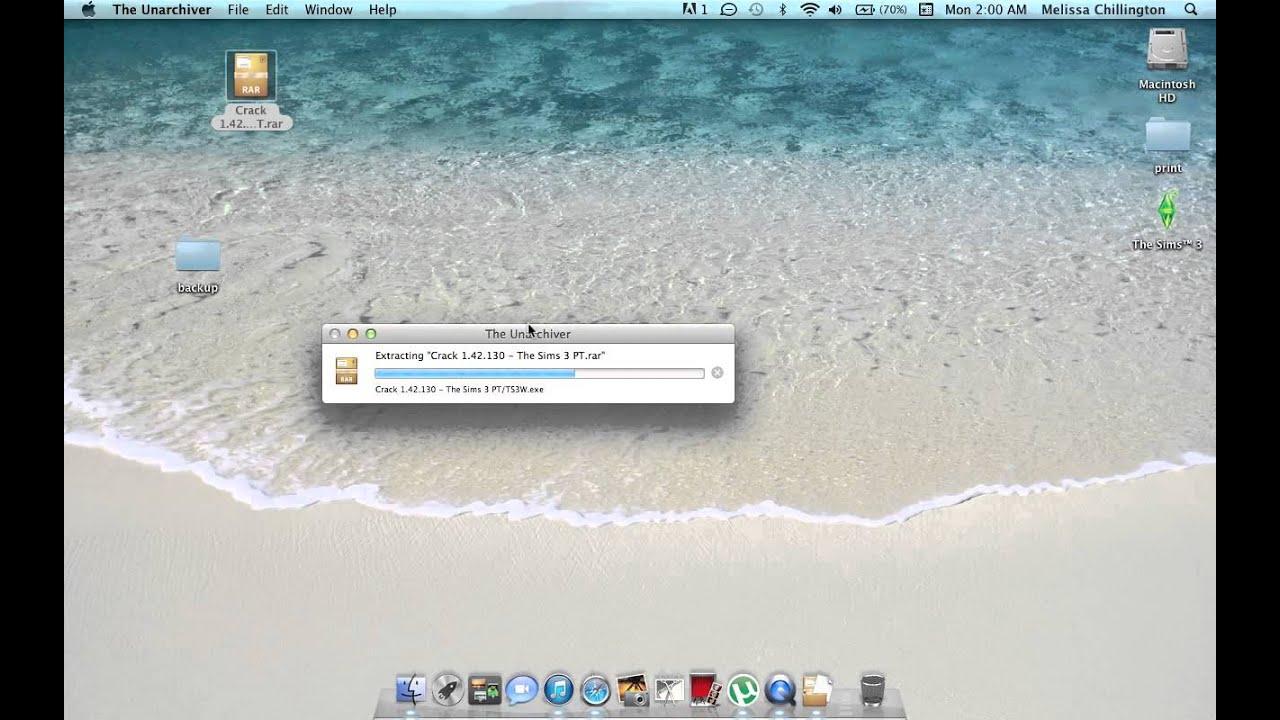 how to fix sims 3 crash/update 1 42 MAC