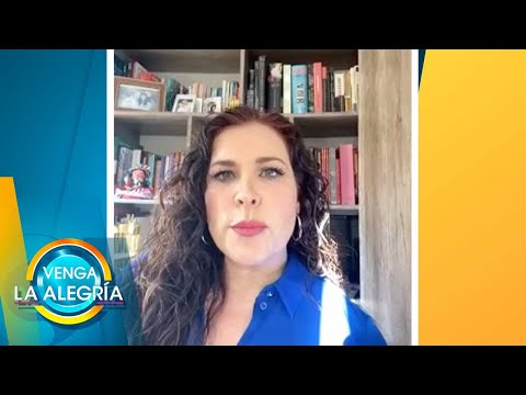 ¡Arleth Terán nos dijo EN EXCLUSIVA que ha sido acosada y atacada por la prensa! | Venga La Alegría