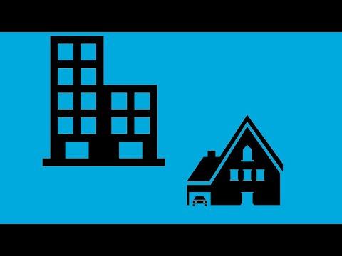 Различия многоквартирных и жилых домов