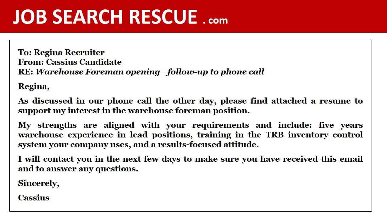 Job Search Rescue Cover Letters