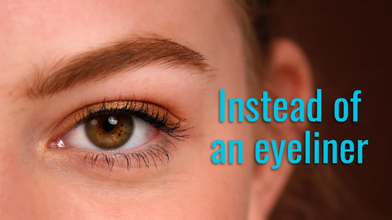 Struggling with your eyeliner? Try this instead!