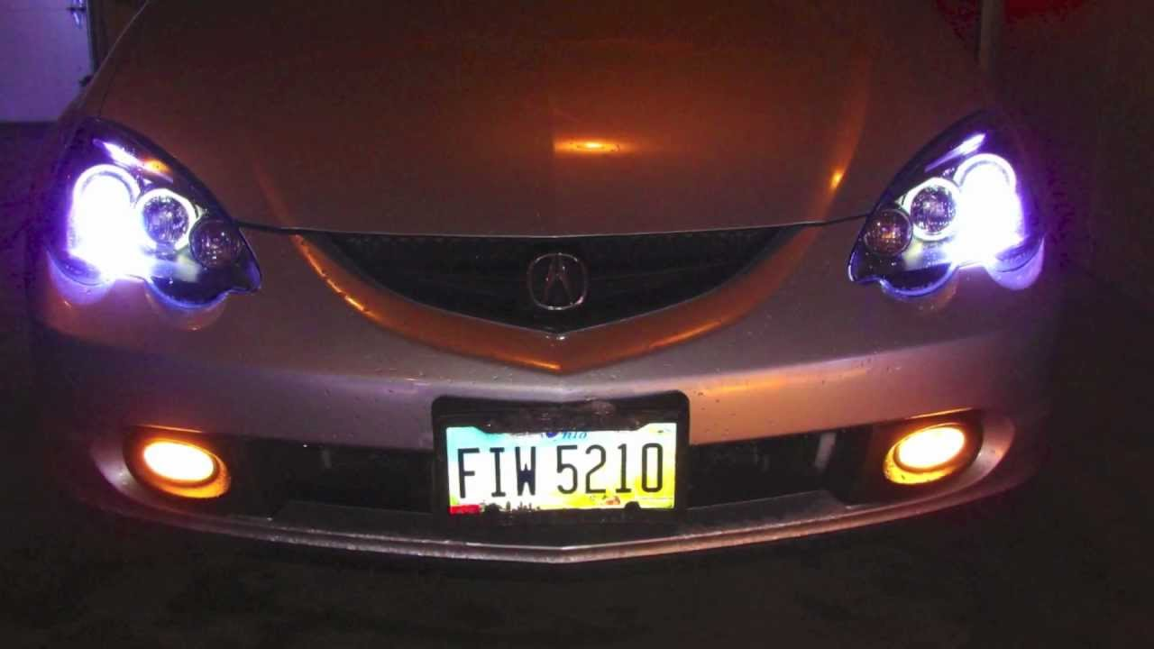 acura rsx headlight taillight install youtube
