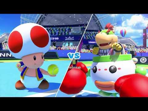 Download Mario Tennis Ultra Smash Walkthrough Knockout Challenge Unlocking Star Toad & Peach