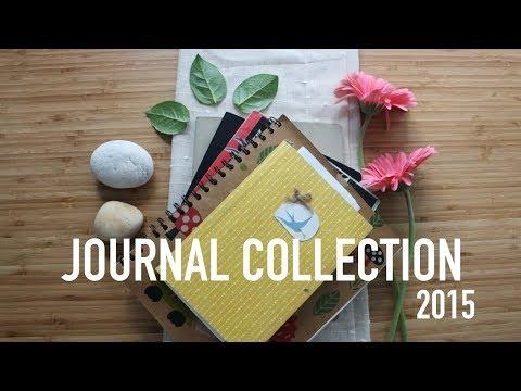 Journal Collection (Flip Through!) 2015