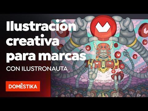 Ilustración creativa para marcas – Curso online de Ilustronauta