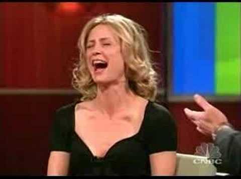 Kelly Rowan on Dennis Miller  part 1