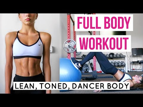 full-body-gym-workout-for-a-lean-toned-dancer-body-(tutorial)-//-tessarenéetr