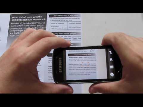 Samsung Omnia Pro B7610 Video 3