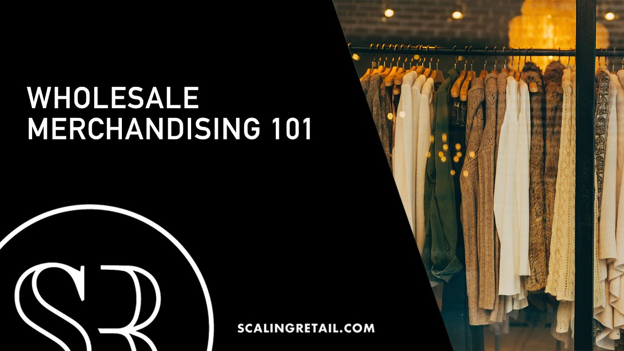 Starting A Fashion Design Company Wholesale Merchandising 101 Youtube