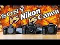 NIKON D850 vs SONY a7R III vs CANON 5D Mark IV Which To Buy