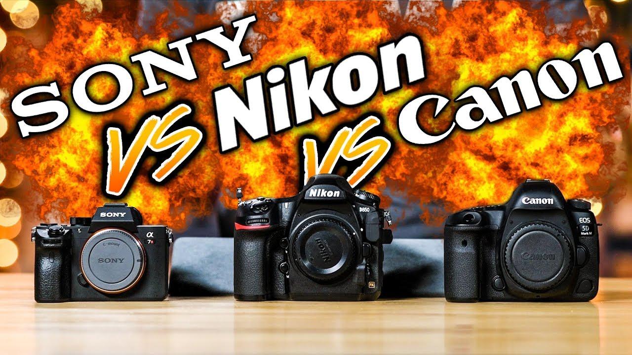 2018 📸: Canon 7D Mk III, Sony a7 III & a7S III, Fuji X-H1, Pentax .