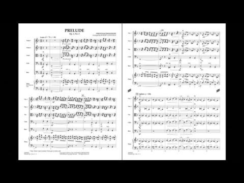 Prelude Op. 3, No. 2 by Sergei Rachmaninoff/arr. Robert Longfield